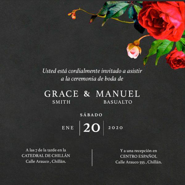Modelo Grace - Te Invito Online