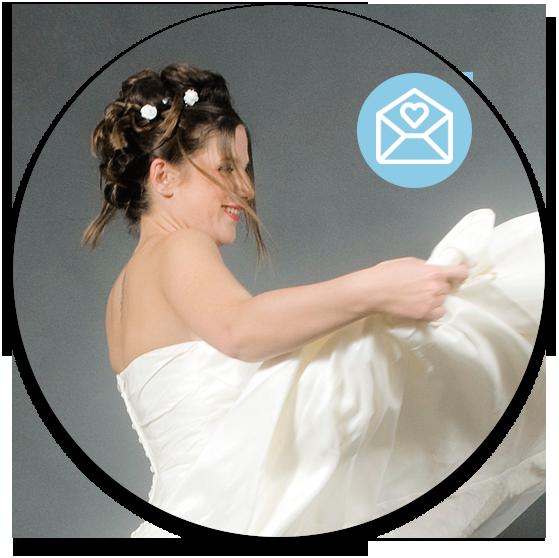 Partes de matrimonio vía email
